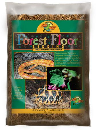 Zoo Med Forest Floor Cypress Mulch 8 quart