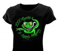 LLLReptile Green Gecko WOMENS Scoop Shirt
