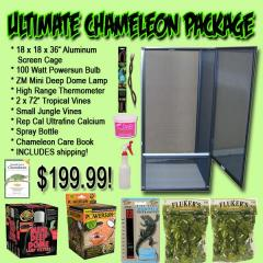 Ultimate Chameleon Screen Cage Package