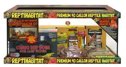 Zoo Med Repti Habitat Bearded Dragon Kit 40 Gallon For Sale