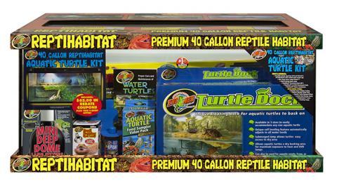 Zoo Med Repti Habitat Aquatic Turtle Kit 40 Gallon
