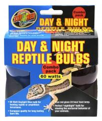 Zoo Med Day & Night Bulb Combo Pack