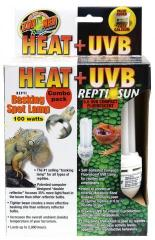Zoo Med Heat and UVB Combo Pack
