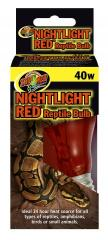 Zoo Med 40 watt red bulb