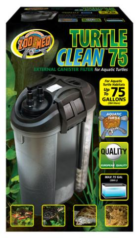 Zoo Med Turtle Clean 75 External Canister Filter