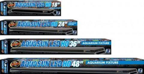 "Zoo Med 48"" Aquasun LED High Output Fixture"