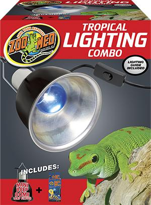 Zoo Med Tropical Lighting Combo