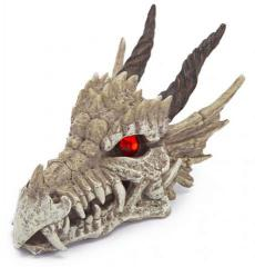 Penn Plax Dragon Skull Gazers Cage Ornament