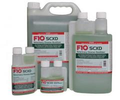 F10SCXD Veterinary Cleaner-Sanitizer 100ml