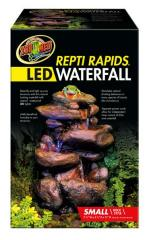 Zoo Med ReptiRapids LED Waterfall Small Rock