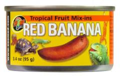 Zoo Med Tropical Fruit Mix-ins Red Banana