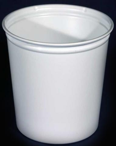 Fabri-Kal 32oz White Deli Cups (not punched)
