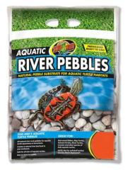 Zoo Med Aquatic River Pebble 10lb