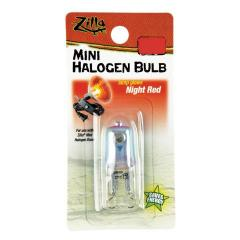 Zilla Mini Halogen Bulb Night Red 25 watt