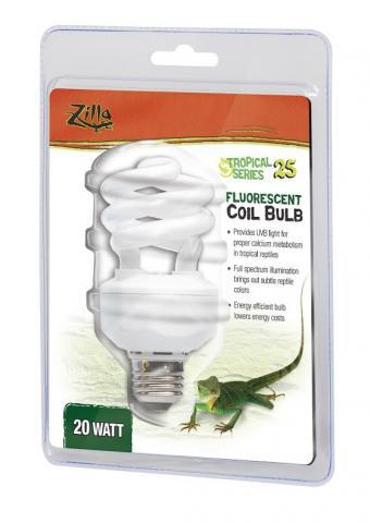 Zilla Tropical Compact Fluorescent Bulb 20 Watt For Sale