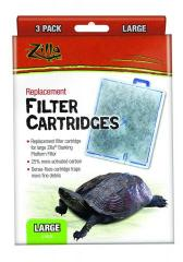 Zilla Replacement Filter Cartridges Large 3pk
