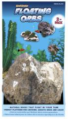 Penn Plax Hanging Orb Floating Rock 2 Pack