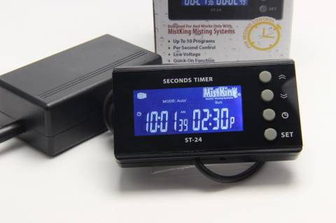 MistKing Digital Seconds Timer
