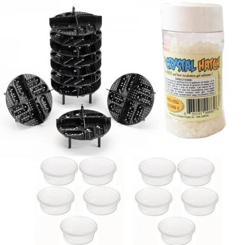 Small Egg Incubation Tray Package