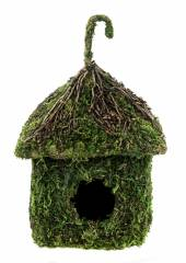 Galapagos Shack Vined Roof Hide / Birdhouse