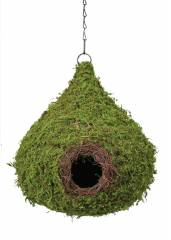 Galapagos Raindrop Hide / Birdhouse with chain
