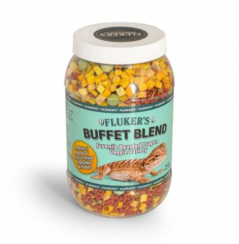 Flukers Buffet Blend Juvenile Bearded Dragon Veggie Variety