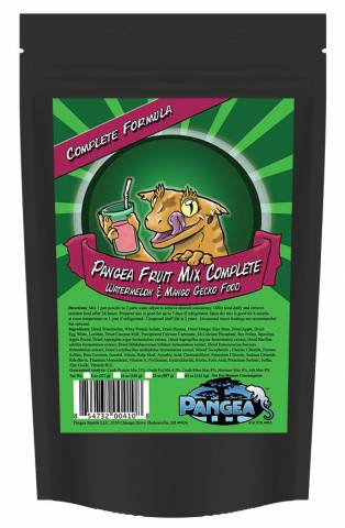 Pangea Fruit Mix Watermelon Mango Complete Gecko Diet 8oz