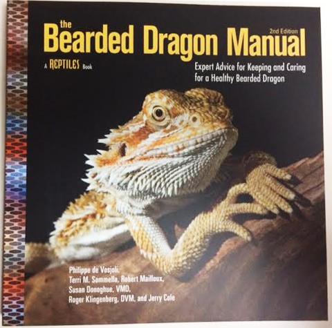 Bearded dragon manual reptile books | ozpetshop.