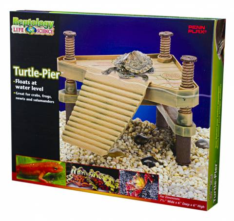 Penn Plax Floating Turtle Pier Small