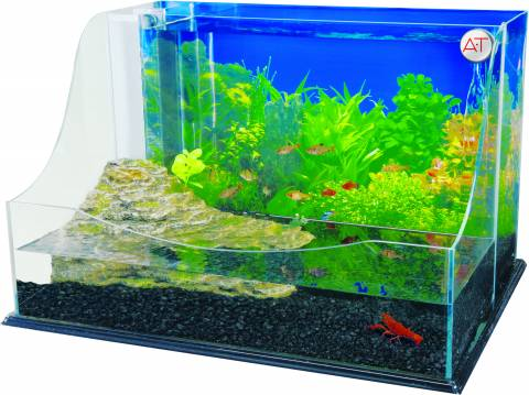 Penn Plax The Grand Lagoon Aqua Terrarium