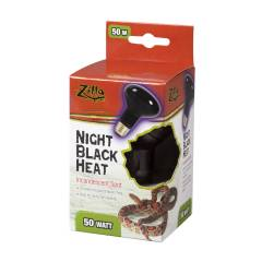 Zilla Incandescent Night Black Spot Bulb 50 watts