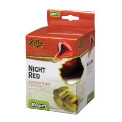Zilla Incandescent Night Red Spot Bulb 100 watts