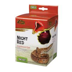 Zilla Incandescent Night Red Spot Bulb 150 watts