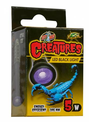 Zoo Med Creatures Black Light 5 watt LED