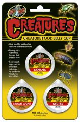 Zoo Med Creatures Jelly Cups (3 pack)