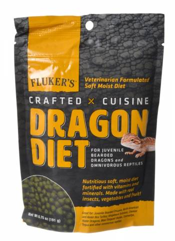 Flukers Crafted Cuisine Juvenile Dragon Diet 6.75oz