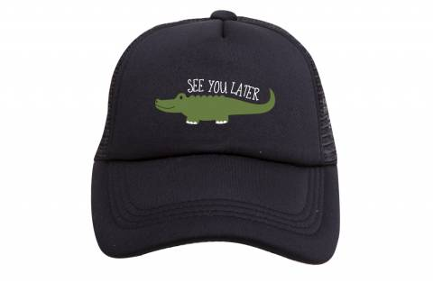 """See You Later"" Alligator Hat for kids"
