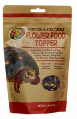 Zoo Med Tortoise and Box Turtle Flower Food Topper 1.4oz