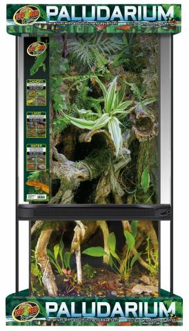 Zoo Med Large Paludarium 18 x 18 x 36 inch (local pickup only)