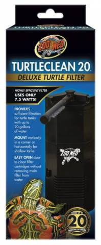 Zoo Med Turtle Clean 20 Deluxe Turtle Filter