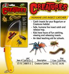 Zoo Med Creatures Humane Live Insect Catcher