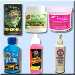 Vitamins, Medicines & Cage Cleaners