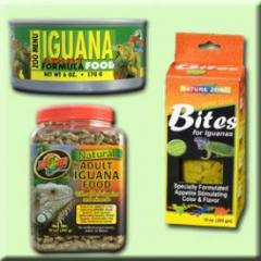 Iguana Dry and Canned Foods