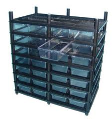 Vision 8 Level Hatchling Rack
