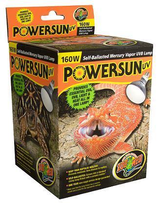 Zoo Med 160 Watt Powersun Uvb Heat Bulbs For Sale