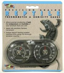 Zoo Med thermometer and humidity indicator