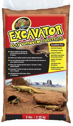 Zoo Med 20lb Excavator Clay Burrowing Substrate