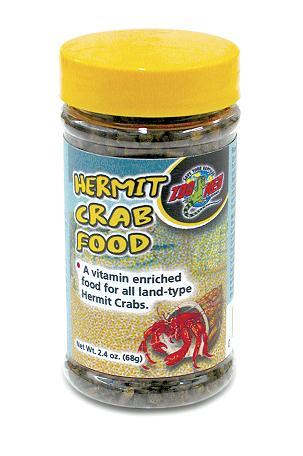 Zoo Med Dry Hermit Crab Food 2.4oz