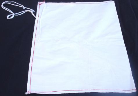 "8"" x 12"" plain cloth bag"
