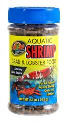 Zoo Med 2.5 ounce Shrimp, Crab & Lobster Food